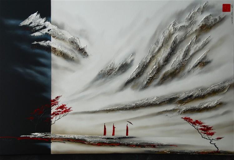 Martin Beaupré artiste peintre || Road elevation
