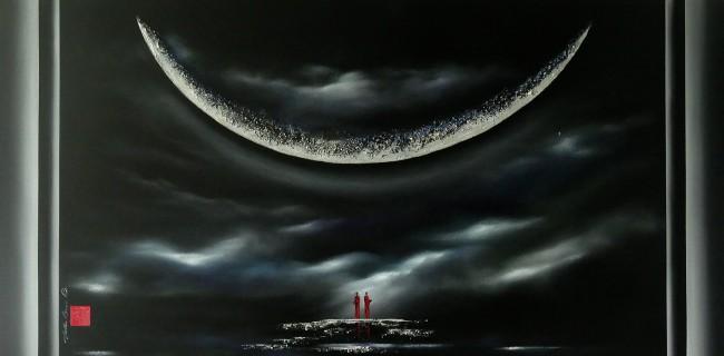 Martin Beaupré artiste peintre || Quand les lumières du ciel éclairent notre chemin