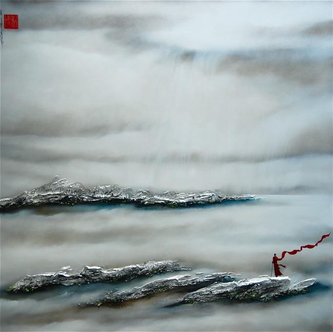 Martin Beaupré artiste peintre || When the horizon reaches my heart